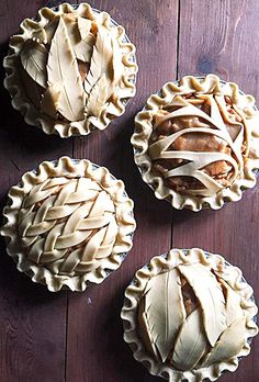 Creative Pie Crusts ❊