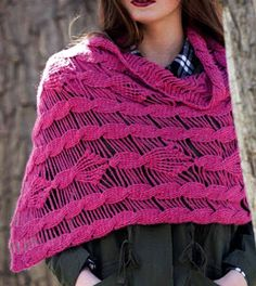 Tina's handicraft : circular crochet shawl
