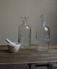 schoolhouse rock. large apothecary bottle with stopper