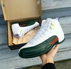 "Air Jordan (Retro) 12's ""Reverse Gucci"""