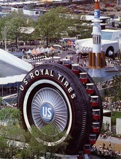 UniRoyal Tire Worlds Fair 1964
