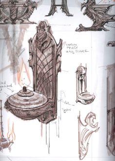 Concept Art The Elder Scrolls V: Skyim by Adam Adamowicz