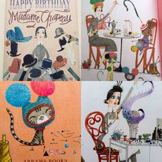 Madame Chapeau by Andrea Beaty. A favourite for half term bedtimes, Eat Me Drink Me Cottage