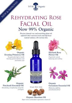 Replenishes and restores radiance to NORMAL SKIN  Precious damask rose infuses a luxurious combination of organic skin-nourishing oils, rich in essential nutrients, antioxidants and vitamins, to help replenish moisture levels and boost skin's natural radiance. 99% organic.  Benefits:  • Replaces lost moisture  • Boosts skin's natural radiance  • Soothes and balances  • Suitable for normal and dry skin