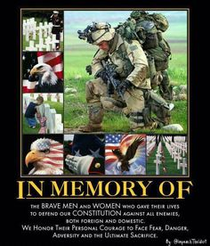 memorial day quotes | Memorial Day Edition So Proud to be an American! Freedom was NEVER Free! Show your Gratitude & Respect today and always!
