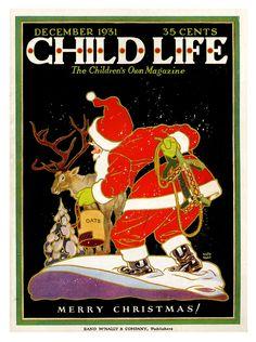 Child Life - Xmas Keith Martin, 1931