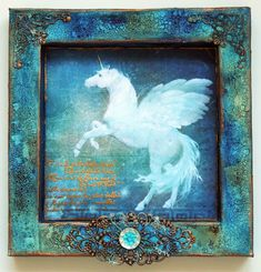 """Shadow box from a single sheet of 12X12"""" paper"""