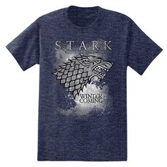Sons of fortement t-shirt Game of trône winterfell série fortement Fun