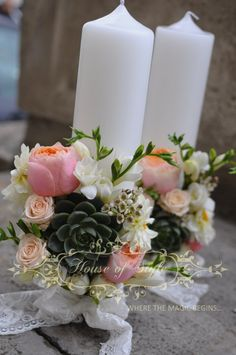 Party Planning, Dyi, Wedding Bouquets, Arts And Crafts, Invitations, Candles, Table Decorations, Weddings, Simple