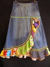Resultado de imagen para como hacer faldas recicladas