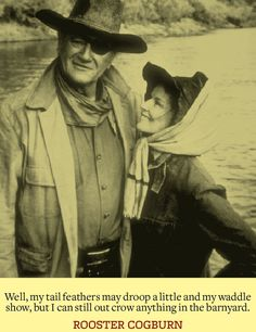 John Wayne quote from True Grit