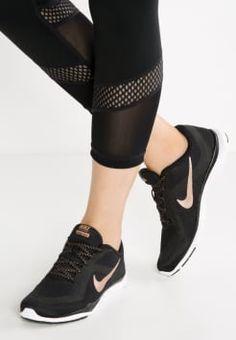 f058f714f37a Nike Performance - FLEX TRAINER 6 - Aerobics-   gympaskor - black metallic  red