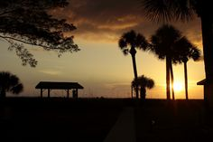 A pavilion at sunset.. follow @dquocbuu if you love it