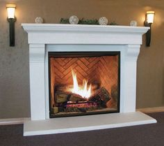 Image result for fireplace surround cast stone