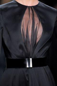 #LBD - Christian #Dior, Fall 2012 - #Black