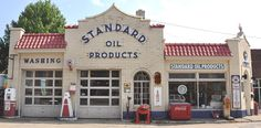 Vintage Service Stations | Old service station pics thread - Page 2 - Ford Truck Enthusiasts ...