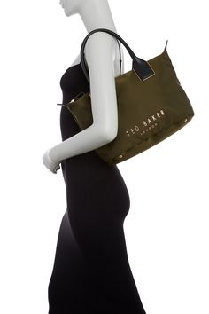 Ted Baker London - Amili Letters Nylon Tote Bag is now 50% off. Free Shipping on orders over $100.