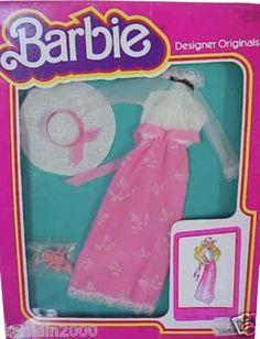 *1980 Fashion designer Barbie outfit 2 #3239 asst #1959