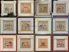 Cottage of the month projet complet GRI-MAI-COTTAGEOFTHEMONTHprojet complet Cottage, Mai, December, Gallery Wall, Frame, Home Decor, Weaving, Projects, Embroidery