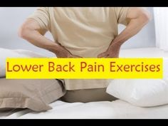 Lower Back Pain Exercises #backpain
