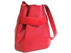 #eLADY global offers free shipping worldwide on all items. #LouisVuitton Sac depaule Shoulder Bag Epi Castilian Red M80207(BF061780) #LV