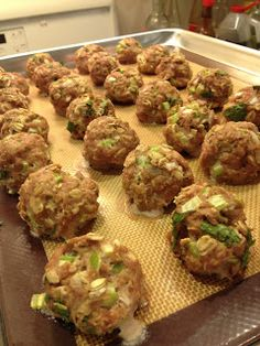 Insatiably Epicurious...: Heart-Healthy Turkey Meatballs