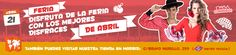 """La Feria de 2015 se inaugura con la noche del """"pescaíto"""" el lunes 20 de Abril a las 24:00 horas, cuando se encienden miles de bombillas que iluminan la portada y las calles del recinto, termina el domingo 26 de abril a las 24:00 horas con el lanzamiento de fuegos artificiales."""