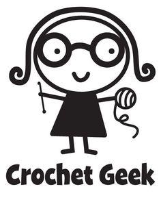 Cute car accessory: #Crochet Geek Vinyl Car Decal