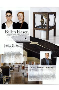 Thierry Lemaire for Fendi Casa at  Residence Sweden July 2014 issue