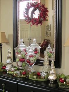 Table Christmas Decorentrance