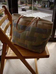 summer & winter in basketweave arrangement