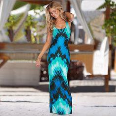 Dark Blue Party Sundress