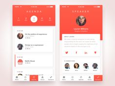 Agenda Mobile Application