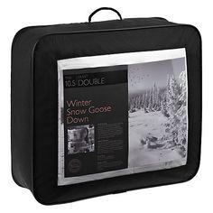 Buy John Lewis Winter Snow Goose Duvet, 10.5 Tog Online at johnlewis.com Snow Goose, Winter Snow, John Lewis, Duvet, Stuff To Buy, Down Comforter, Comforters, Comforter