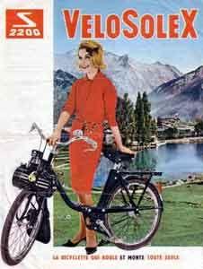 Solex  2200 : la bicyclette qui roule et monte toute seule