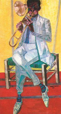 Tocador de trombone, 1959 / Portinari