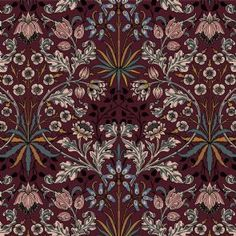 House of Hackney, papier peint HYACINTH Mulberry