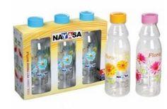 Printed Pet Bottles Nayasa Cool Camay Set Of 3 at Rs.158 -Shopclues