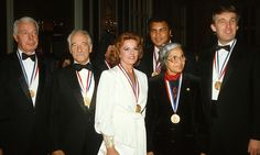 She was presented with the Ellis Island Medal of Honor in 1986, along with Joe DiMaggio, Victor Borge, Anita Bryant, Muhammad Ali and Donald Trump.