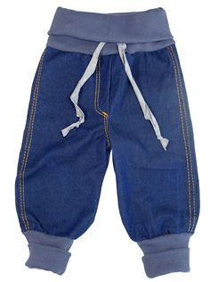 Coole Jeanspumphose für Babys selbermachen