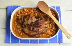 Pin on Food art/Artă culinară. Romanian Food, Chana Masala, Pork Recipes, Food Art, Beans, Food And Drink, Pasta, Urban, Dishes