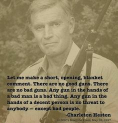 Charleton Heston quote - a patriot in the gun rights movement Thats The Way, That Way, Calling All Angels, Charleton Heston, Great Quotes, Inspirational Quotes, Amazing Quotes, Random Quotes, Motivational Quotes
