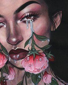 64 best ideas for trippy art drawing girl Art Sketches, Art Drawings, Photo Rose, Arte Dope, Wow Art, Psychedelic Art, Aesthetic Art, Art Inspo, Art Girl