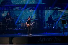 James Blunt On Tour In Switzerland With Art On Ice in Zurich, Lausanne, Davos and Basel, along with champion ice skaters James Blunt, Blunt Art, Ice Show, Ice Skaters, Davos, Lausanne, Basel, Zurich, Touring