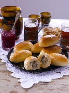 Finnish Recipes, Pretzel Bites, Martini, Hamburger, Bread, Baking, Brot, Bakken, Burgers