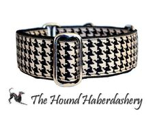 Martingale Collar: Classic Houndstooth (1.5 Inch), Dog Collar, Greyhound Collar, Custom Dog Collars, Greyhound Martingale. 22.95, via Etsy.