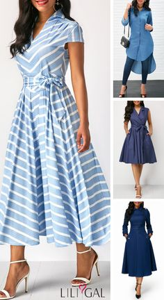 Find a special occasion dress that you'll feel your best in. Shop Liligal for all your holiday wardrobe needs and find an elegant spring dress that's anything but basic. Source by liligalwomensfashion dresses classy Elegant Dresses, Cute Dresses, Beautiful Dresses, Casual Dresses, Fashion Dresses, Dresses For Work, Denim Dresses, Classy Dress, African Dress