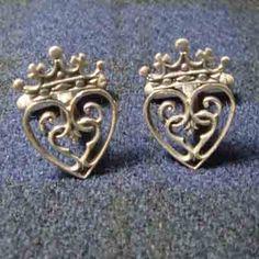 Traditional Scottish Wedding Ideas   luckenbooth cufflinks cl12