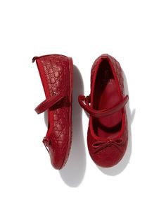 Toddler Bow Mary Jane from Gucci Kids' Shoes on Gilt