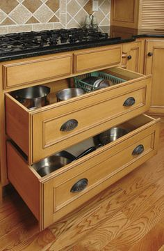 1000 Images About Kitchen Drawers On Pinterest Drawers Pots And Pan Storage